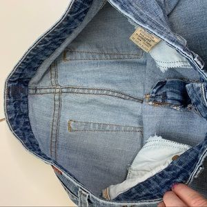 7 For All Mankind Shorts - 7 For All Mankind sparkly A pocket cut off shorts